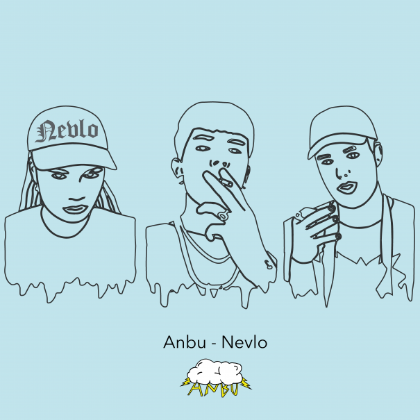 NEVLO mixtape cover FRONT