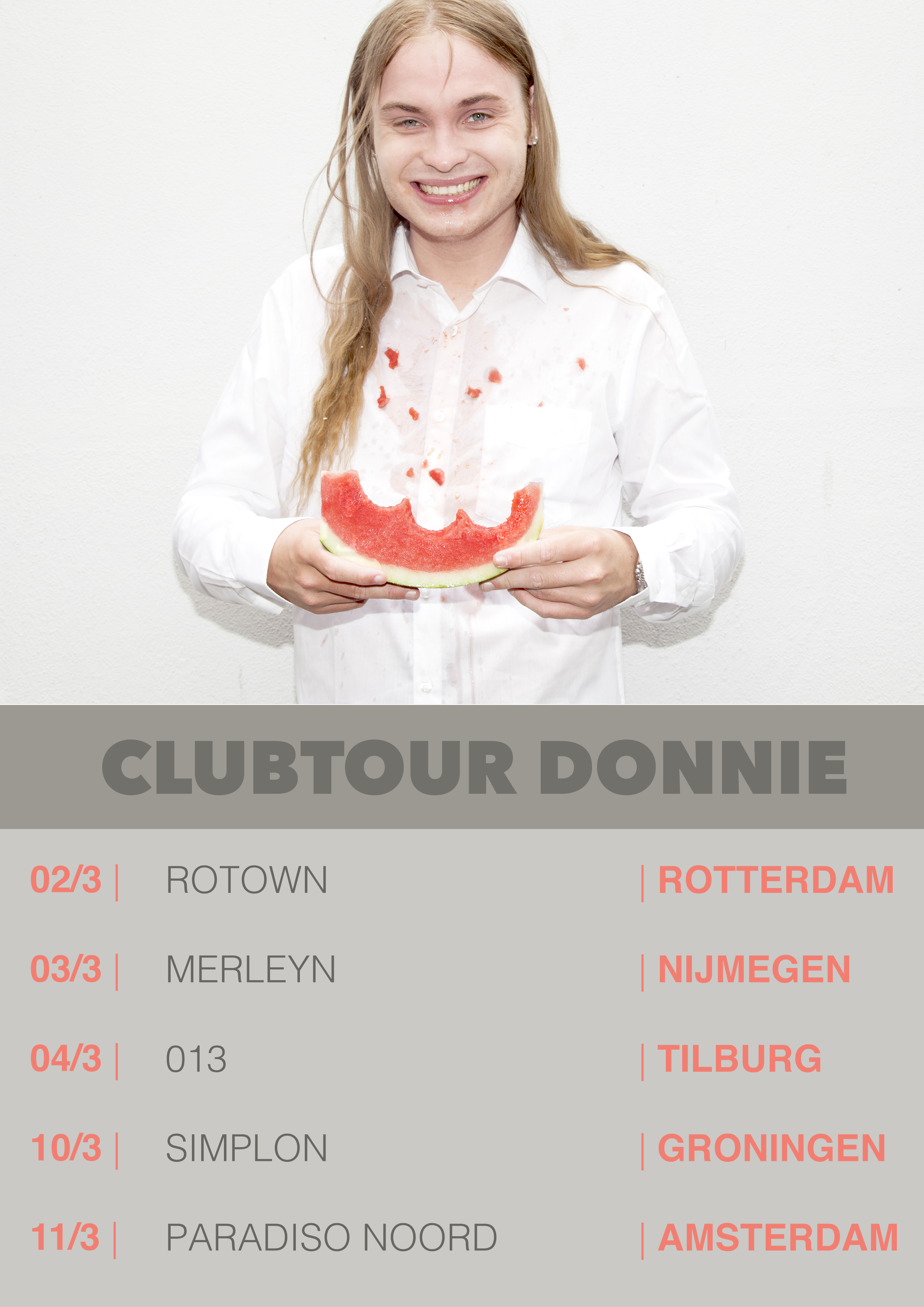 CLUBTOUR poster