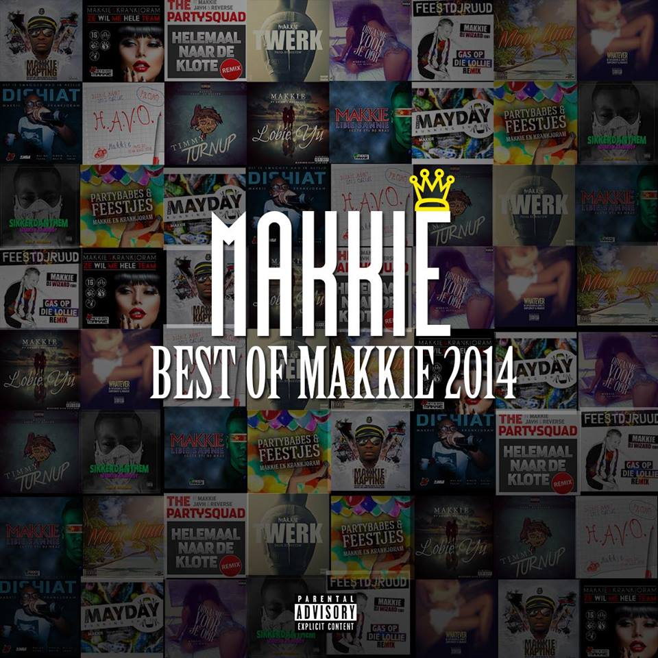 COVER BEST OF MAKKIE 2014 FRONT