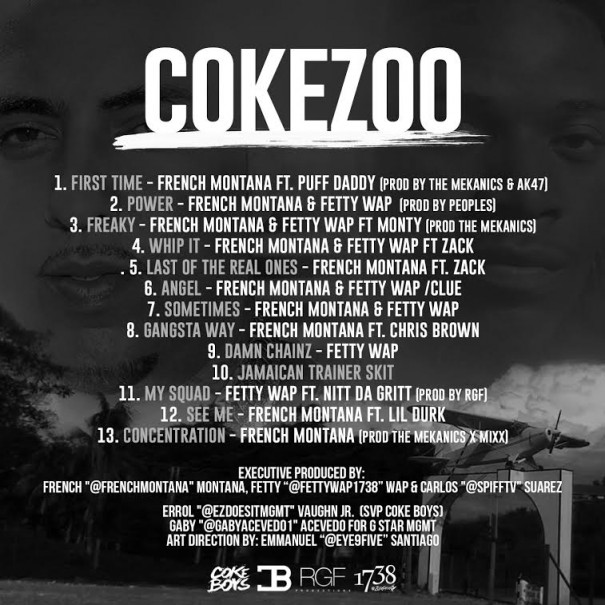 french-montana-fetty-wap-coke-zoo tracklist