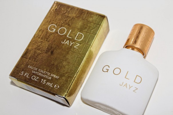 GOLD Jay Z fragrance