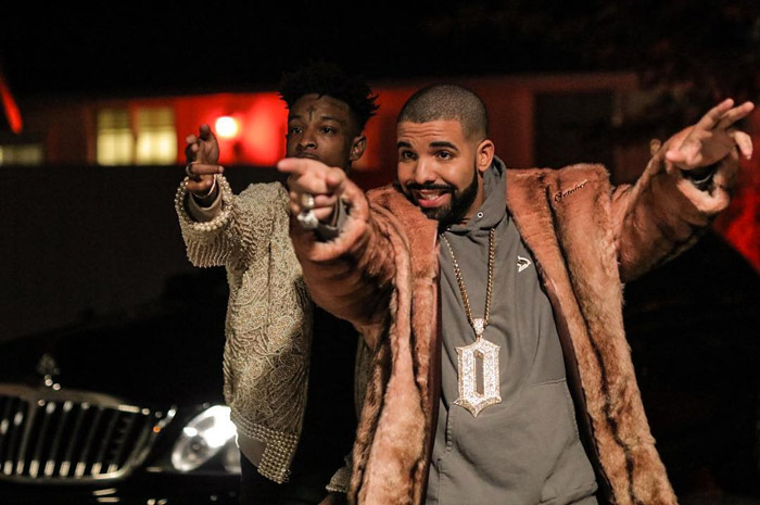 21-savage-drake-sneakin-video